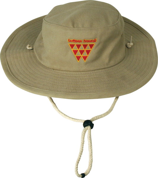 Buttons Hawaii Floppy Hat Khaki L/Xl Sale
