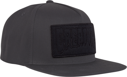 Creature Reverse Patch Hat Adj-Dark Grey