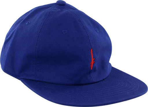 Dw Gang Logo Strapback Hat-Blue/Red