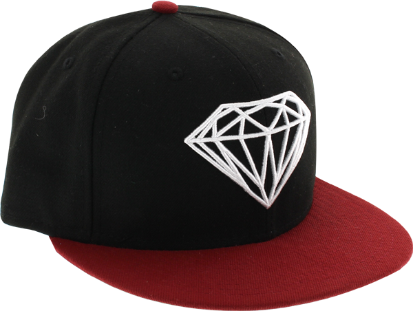 Diamond Brilliant Hat 8 Red/Blk