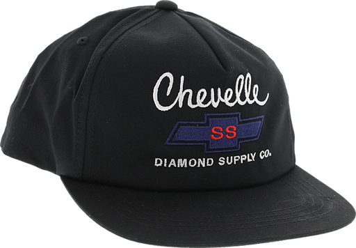 Diamond X Chevy Chevelle Big Block Hat Adj-Black