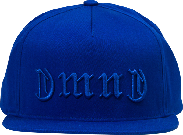 Diamond Dmnd Gang Hat Adj-Blue Snapback