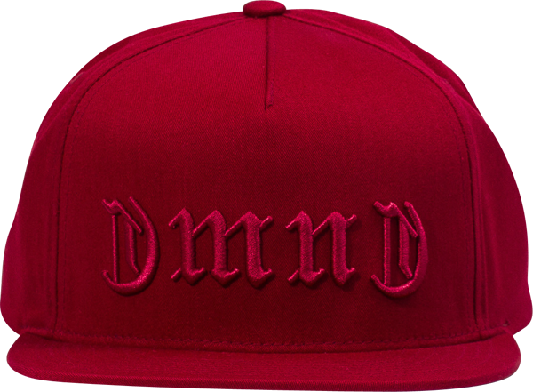 Diamond Dmnd Gang Hat Adj-Red Snapback