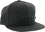 "Diamond Og Script Hat 7-3/8"" Black"