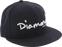 "Diamond Og Script Hat 7-5/8"" Navy/Wht Newera"