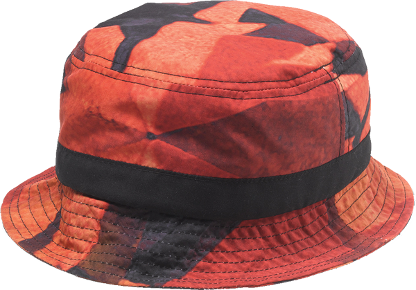 Diamond Simplicity Bucket Hat S/M-Red