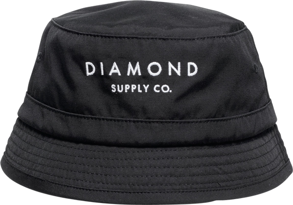 Diamond Stone Cut Bucket Hat S/M-Black
