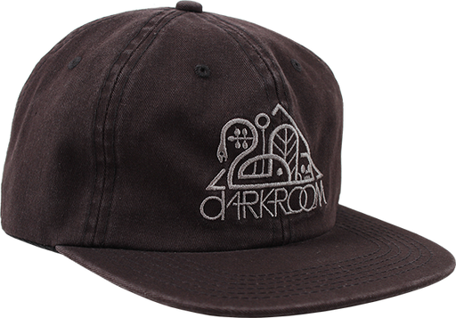 Darkroom Og 6 Panel Hat Black