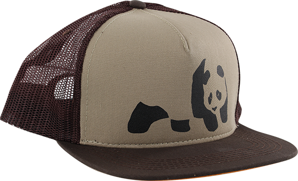 Enj Panda Hat Adj-Brown