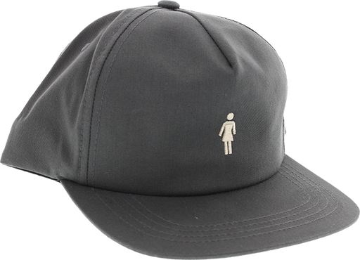 Girl Micro Og Hat Adj-Charcoal