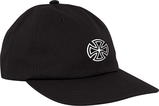 Inde Gsd Cross Hat Adj-Black