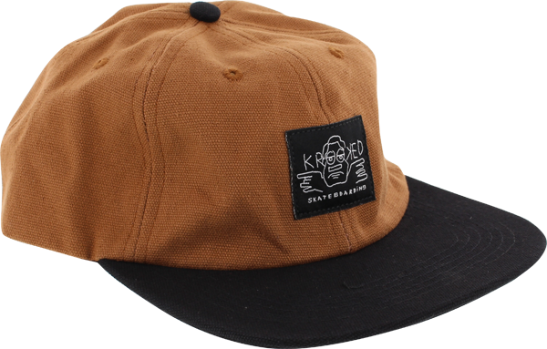 Krk Arketype Hat Adj-Brn/Blk Canvas/Twill