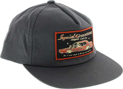 Krk Car Club Hat Adj-Charcoal