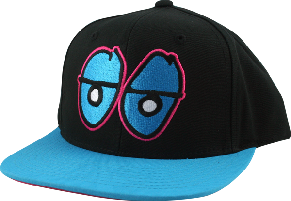 Krk Eyes Hat-Blk/Blue/Pink Snapback