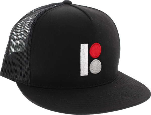 Plan B Classic Trucker Mesh Hat Adj-Black