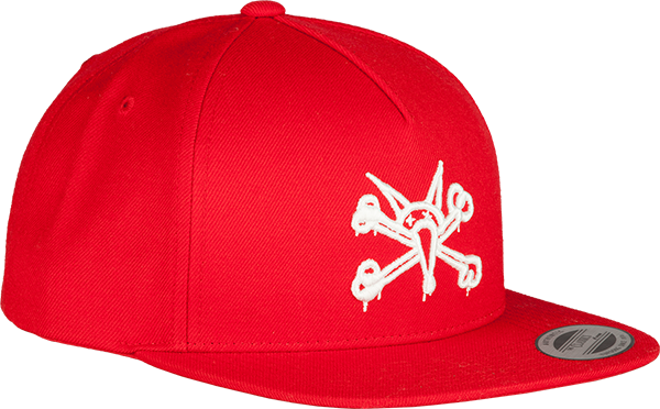 Pwl/P Vato Rat Hat Adj-Red