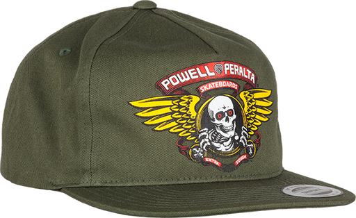 Pwl/P Winged Ripper Hat Adj-Military Green