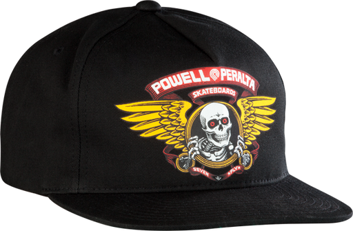Pwl/P Winged Ripper Hat Adj-Black