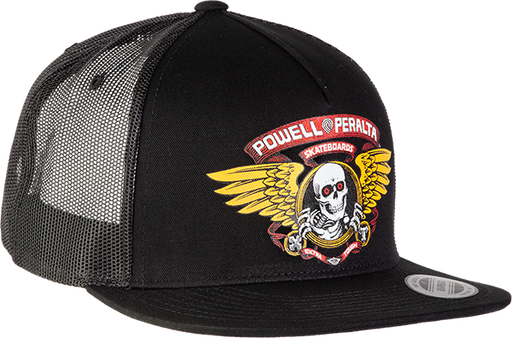 Pwl/P Winged Ripper Trucker Mesh Hat Adj-Black