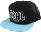 Real Deeds Mesh Hat Adj-Blk/Blue