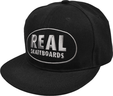 Real Exposed Mesh Hat Adj-Black