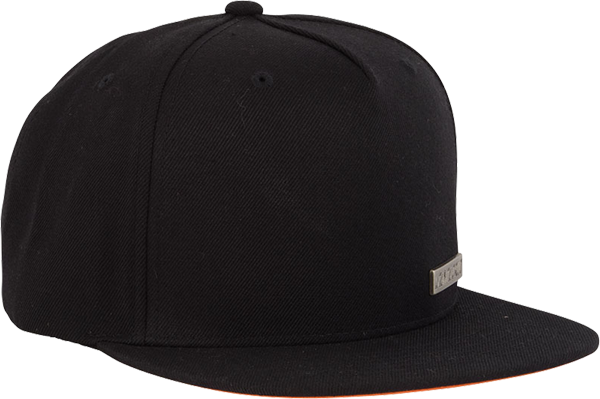 Sc Block Strip Badge Hat Adj-Blk