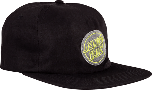 Sc Reverse Dot Hat Adj-Black