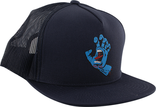 Sc Screaming Hand Front Mesh Hat Adj-Navy/Blk
