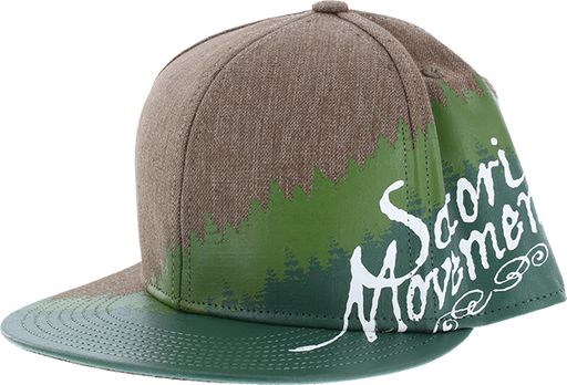Satori Tree Line Hat Dark Sand