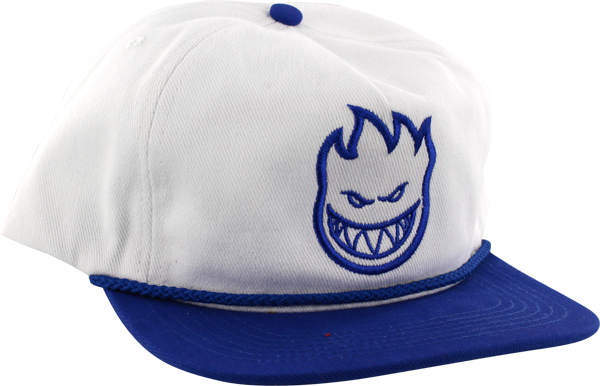 Sf Bighead Unstructured Hat Adj-Wht/Royal
