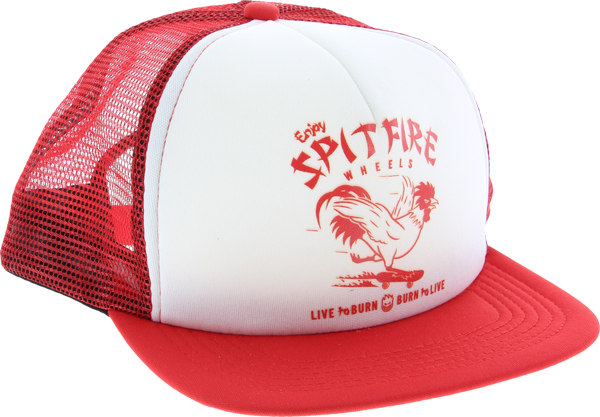 Sf Express Mesh Hat Adj-Wht/Red