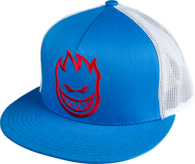 Sf Bighead Mesh Hat Adj-Wht/Blk/Blue/Red