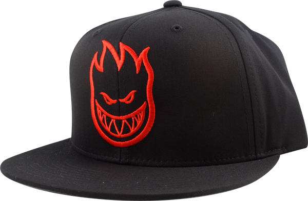 Sf Bighead Hat Adj-Blk/Red Snapback