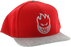 Sf Bighead Hat Adj-Red/Grey Snapback