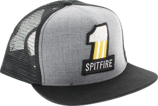 Sf #1 Mesh Hat Adj-Heather Grey/Blk