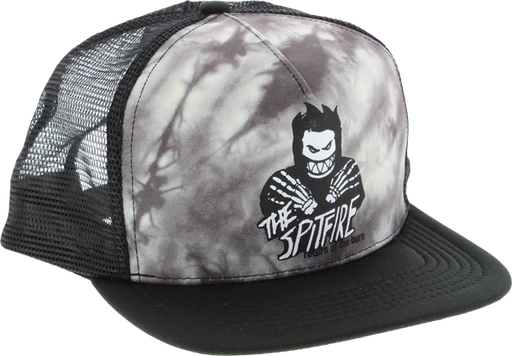 Sf Return Of The Burn Mesh Hat Adj-Blk/Wht Tie Dye
