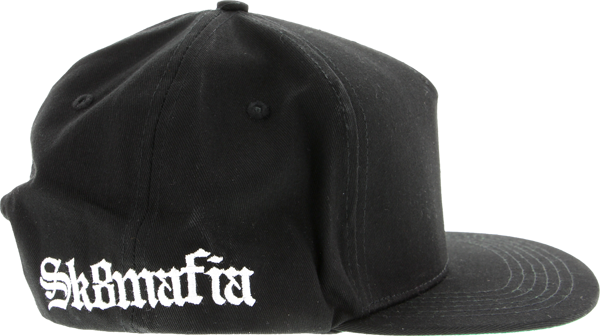 Sk8mafia Old E Side Logo Hat Adj-Black