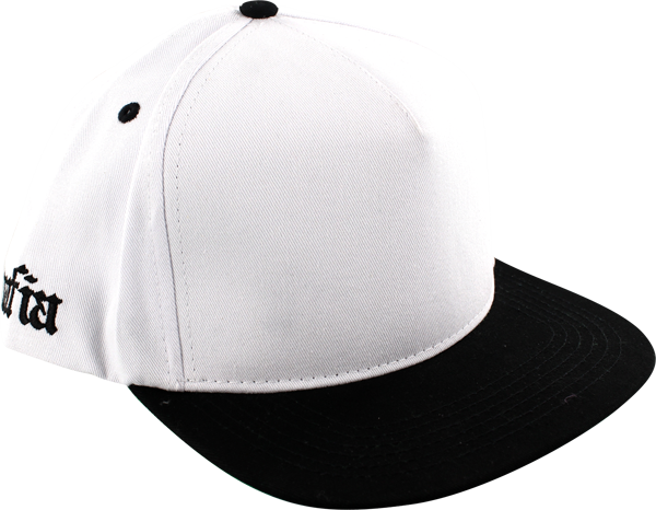 Sk8mafia Old E Side Logo Hat Adj-White