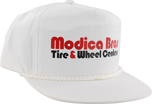 Send Help Modica Bros Poplin Hat Adj-White