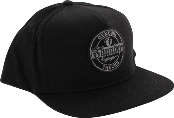 Thunder Genuine Hat Adj-Black
