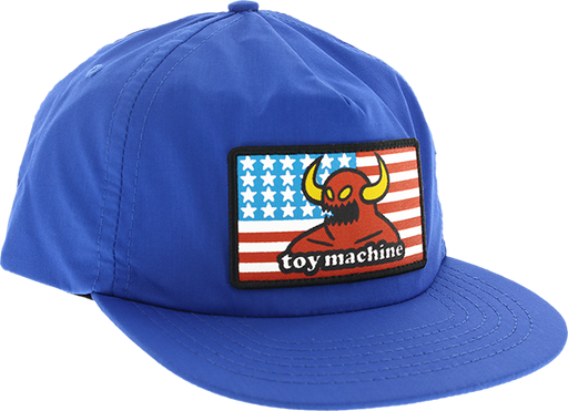 Tm American Monster Hat Adj-Blue