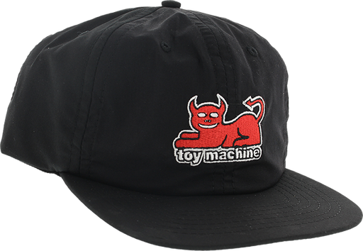 Tm Devil Cat Hat Adj-Black