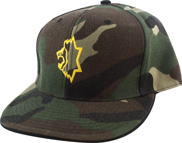 Unknown Souljah Flat Bill Hat 7 1/4 Camo