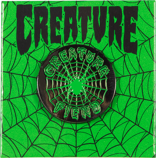 Creature Fiend Web Pin Black