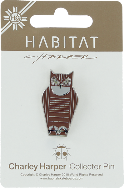 Habitat Harper Great Horned Owl Enamel Pin