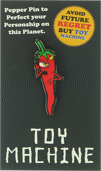 Tm Pepper Lapel Pin