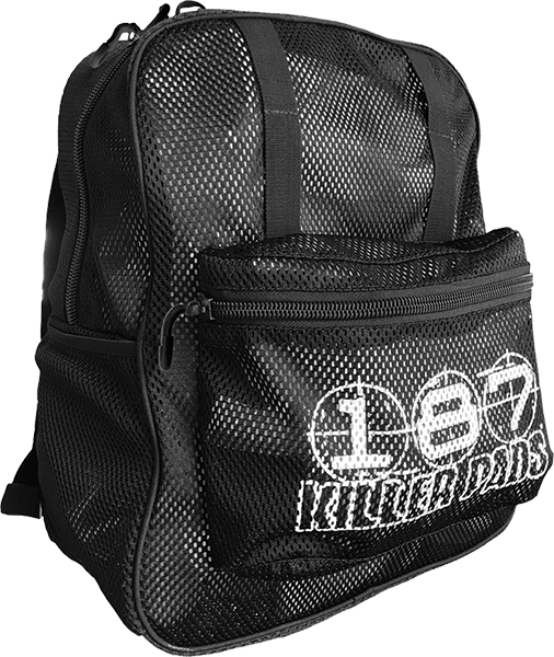 187 Mesh Backpack Black
