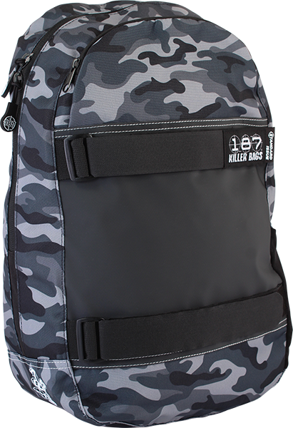 187 Standard Issue Backpack Charcoal Camo