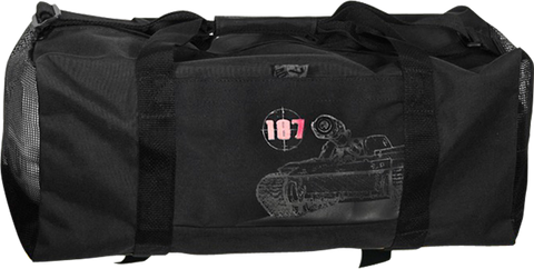 187 War Machine Duffle Bag Black
