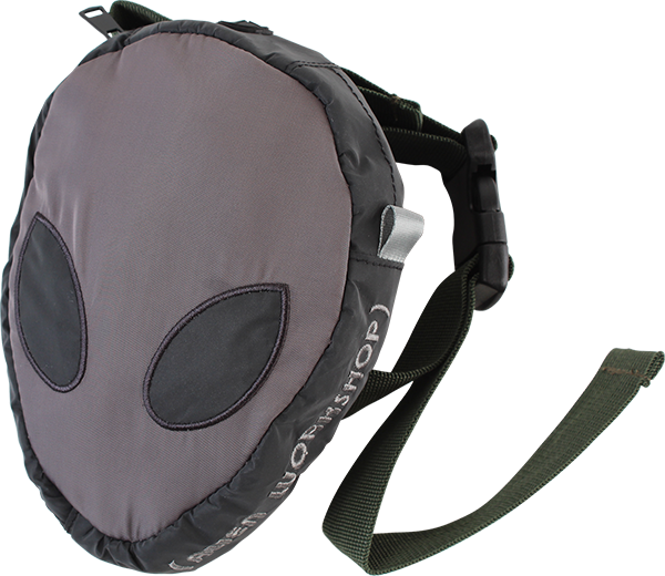 Aw Alien Hip Pack Grey/Blk